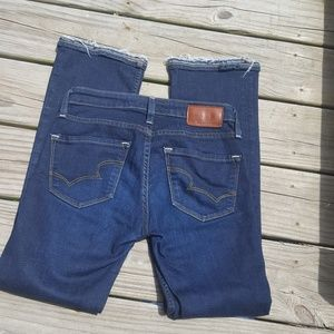 Big Star1974 Hazel Mid Rise Boot Cut Jeans/Sz 25L